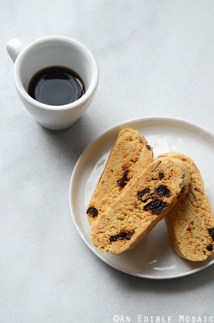Cherry Almond Biscotti {Gluten-Free} 2