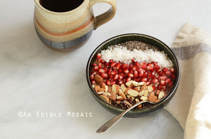 10-Minute Cinnamon Raisin Brown Rice Breakfast Porridge {Gluten-Free; Vegan} 4