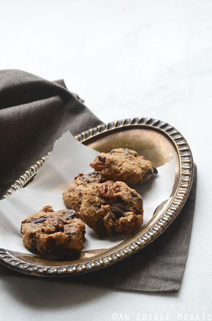 Healthy Fig and Pecan Breakfast Cookies {Gluten-Free} 2