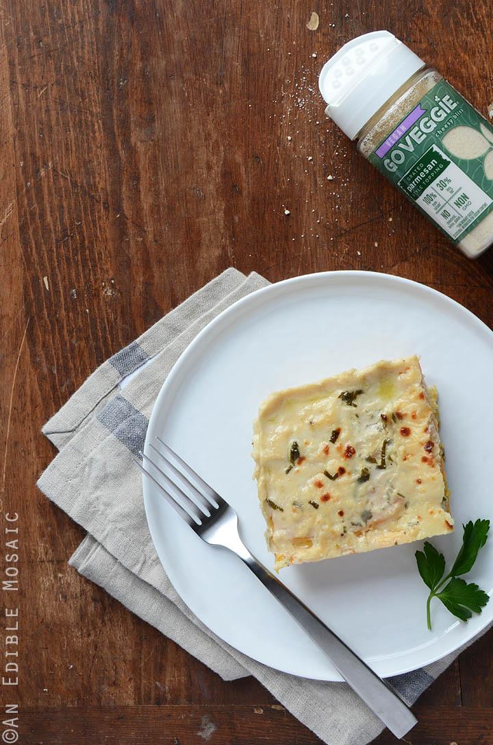 Cheesy Butternut Squash Lasagna {Gluten-Free; Lactose-Free} 2