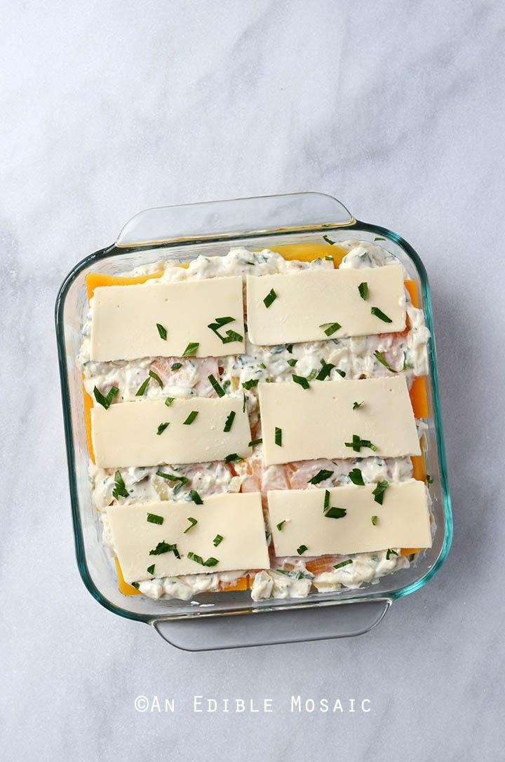 Cheesy Butternut Squash Lasagna {Gluten-Free; Lactose-Free} 3