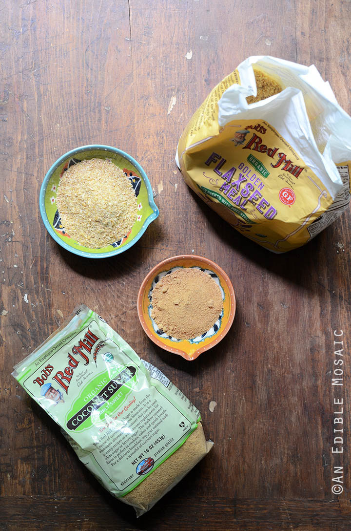 Bob's Red Mill Flaxseed Meal and Coconut Sugar