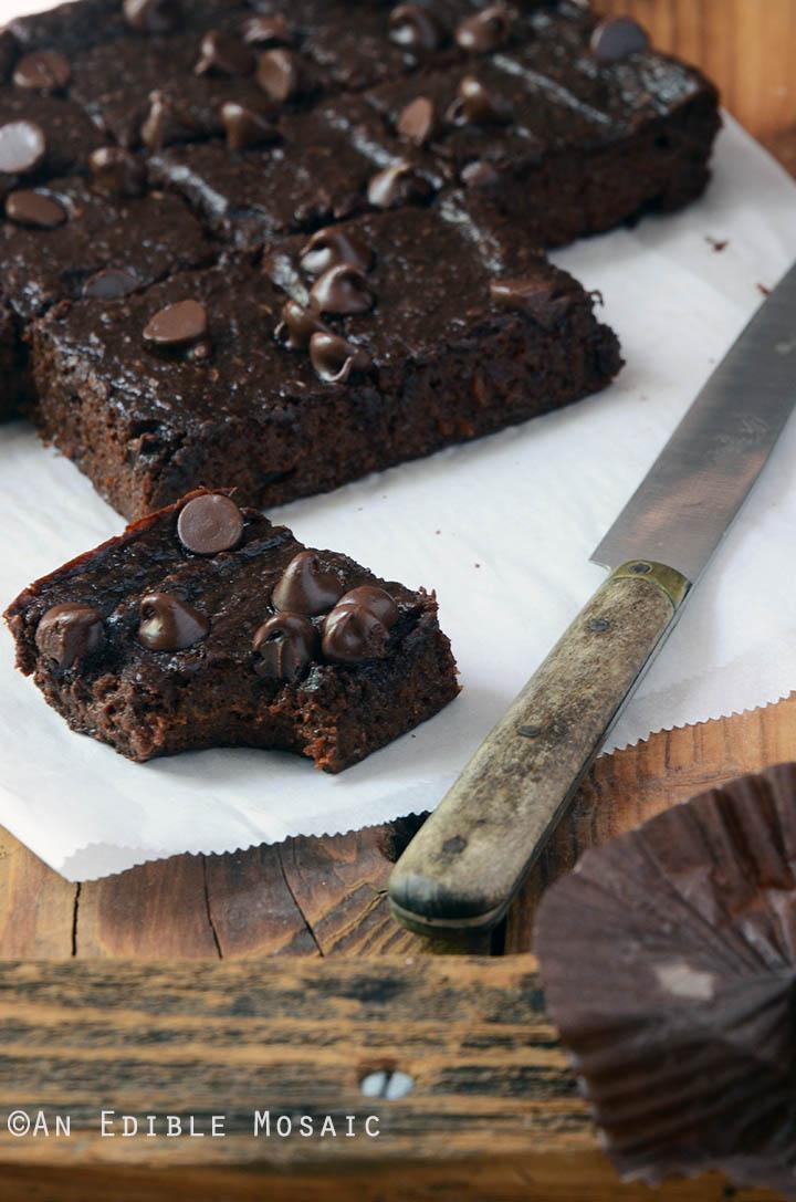 Secretly Healthy Fudgy Chocolate Sweet Potato Brownies {Paleo} 2