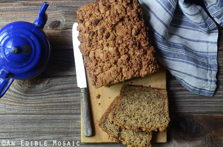 Chai-Spiced Spaghetti Squash (or Pumpkin) Crumble-Topped Loaf Cake 2