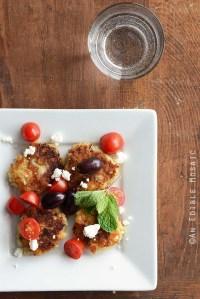 Parmesan and Garlic White Bean Patties {Gluten-Free}
