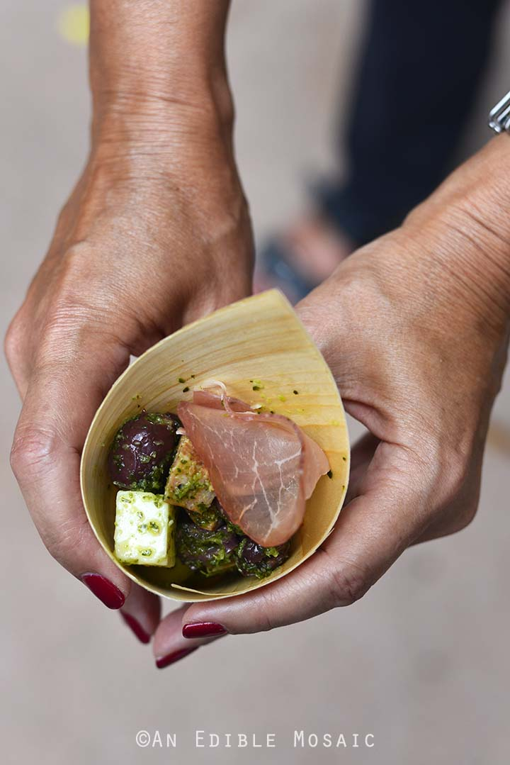 Charcuterie in a Cone from Epcot Food and Wine Festival