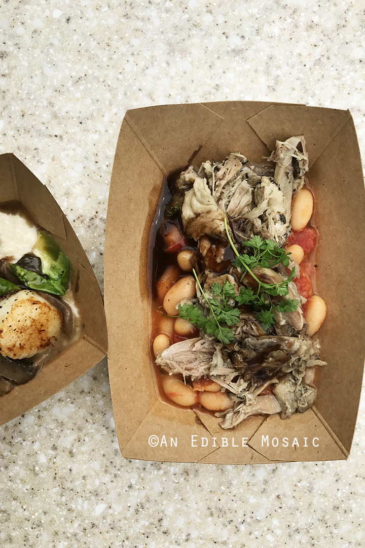 Pulled Duck Confit from Epcot Food and Wine Festival