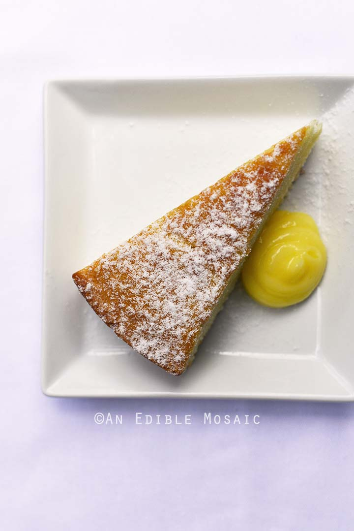 Sweet Olive Oil Cake from Epcot Food and Wine Festival