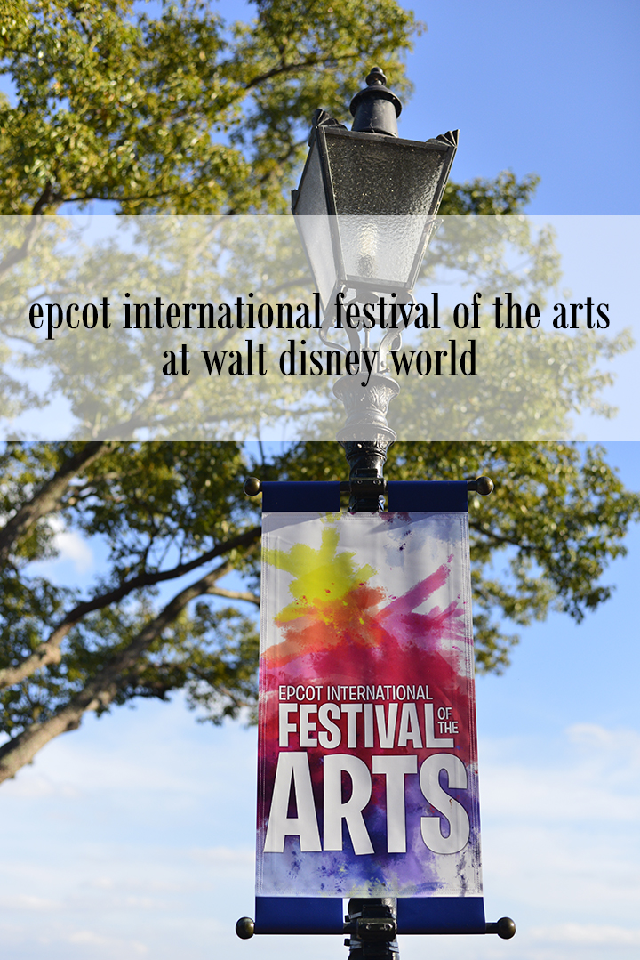 Epcot International Festival of the Arts at Walt Disney World