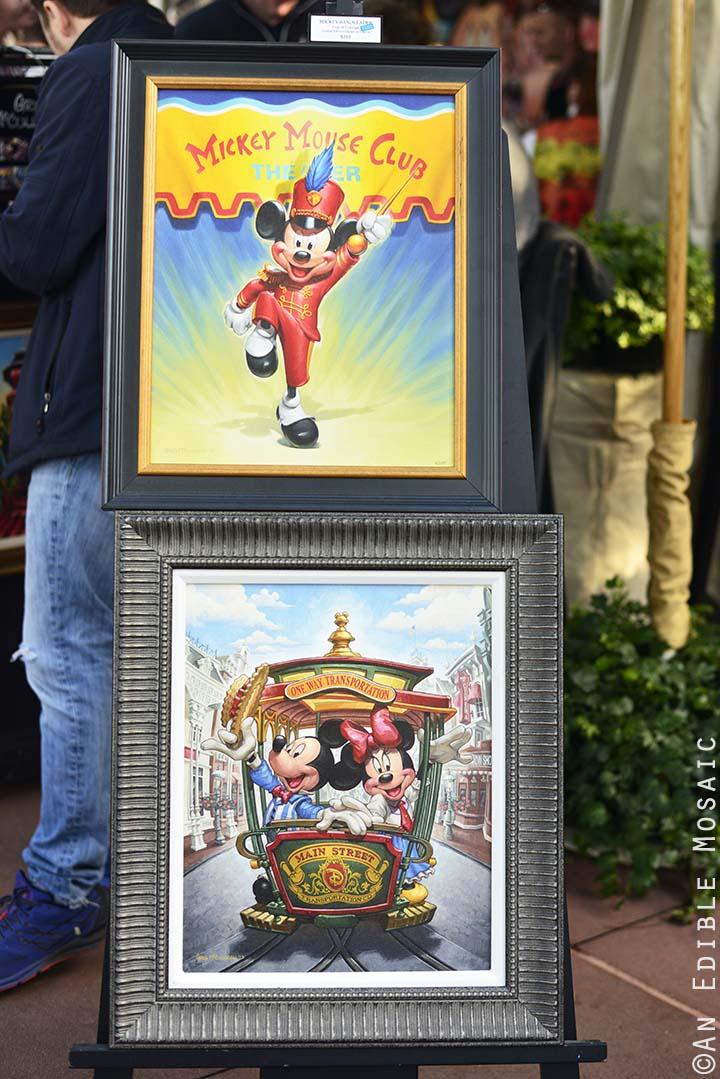 Mickey Paintings