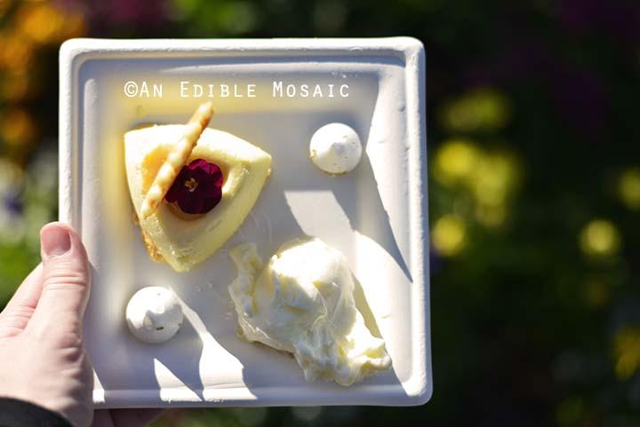 Local Wildflower Honey-Mascarpone Cheesecake from The Honey Bee-stro