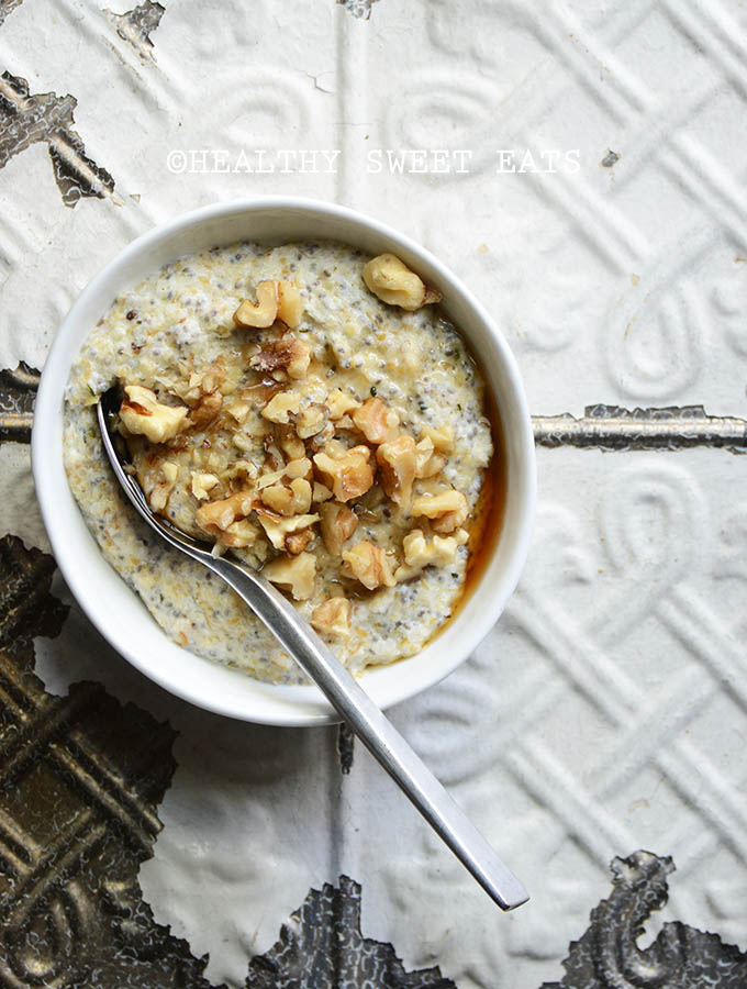 My Favorite Noatmeal (aka Low-Carb Oat-Free Porridge)