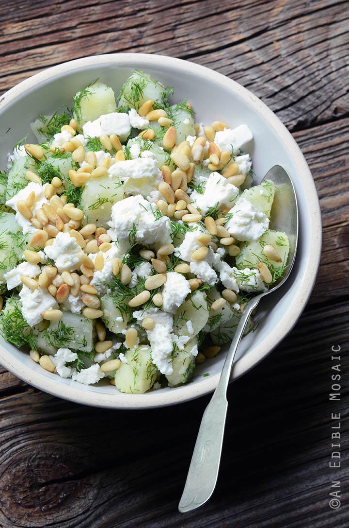 Spanakopita Potato Salad