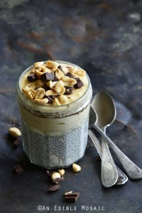 Chocolate Peanut Butter Chia Pudding (Tastes Like Healthy Peanut Butter Pie!)