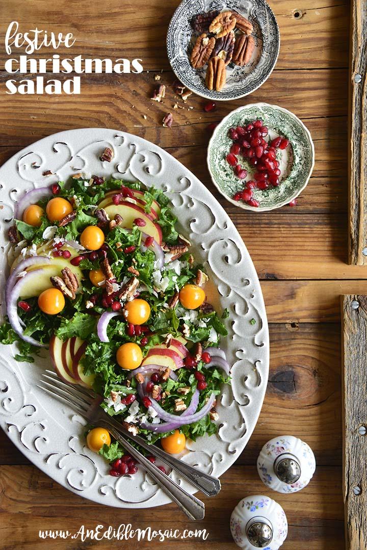 Festive Christmas Salad Recipe with Description