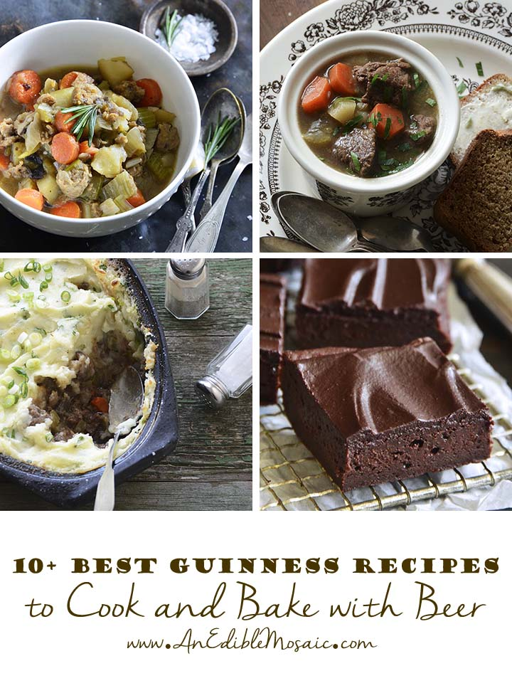 10+ Best Guinness Recipes to Cook and Bake with Beer Collage