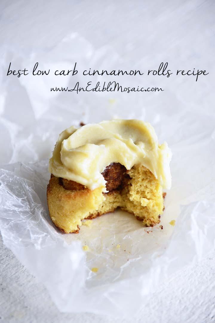 Best Low Carb Cinnamon Rolls Recipe Pin