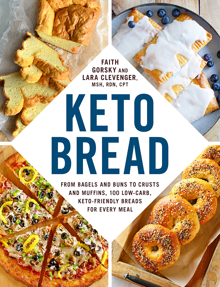 Keto Bread Cookbook by The Keto Queens