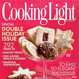 One Year Subscription to Cooking Light Magazine