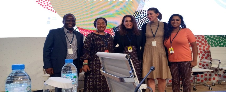 REPORT OF THE AFRICA NETWORK FOR ENVIRONMENT AND ECONOMIC JUSTICE (ANEEJ) SIDE EVENT AT CoSP 8, ABU DHABI