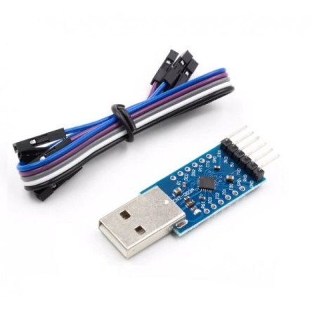 CP2104 USB 2.0 to TTL UART 6PIN Module Serial Converter CP2104 STC PRGMR Replace CP2102 With Dupont Cables