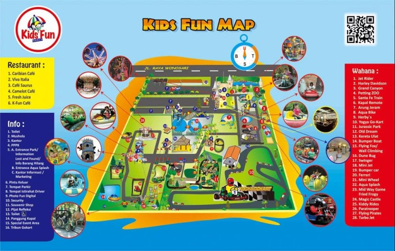 Peta Kids Fun Park Jogja