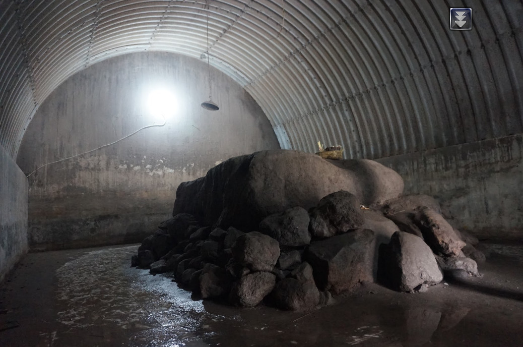 Ruangan Dalam Bunker Kaliadem