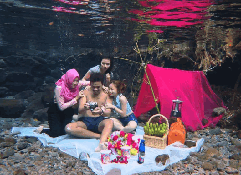 Camping di Umbul Ponggok