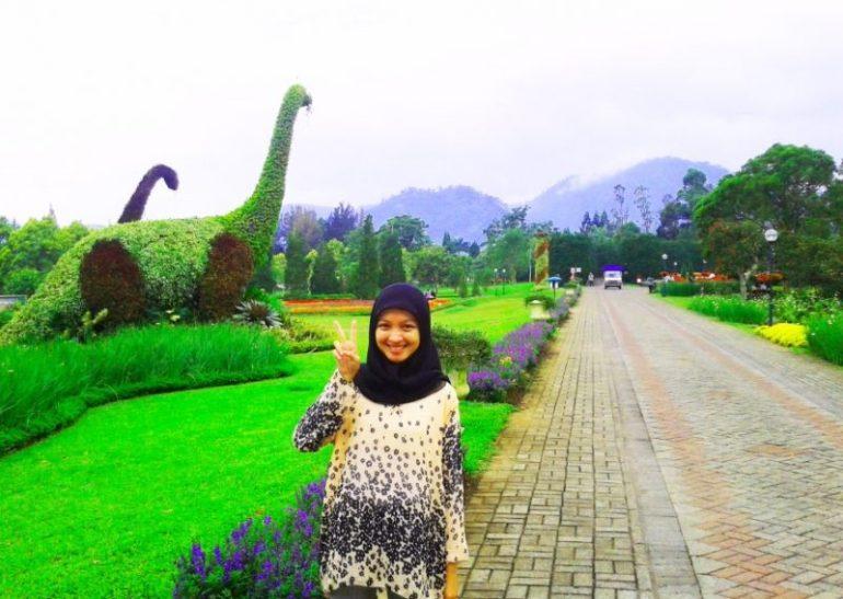Spot foto di Taman Bunga