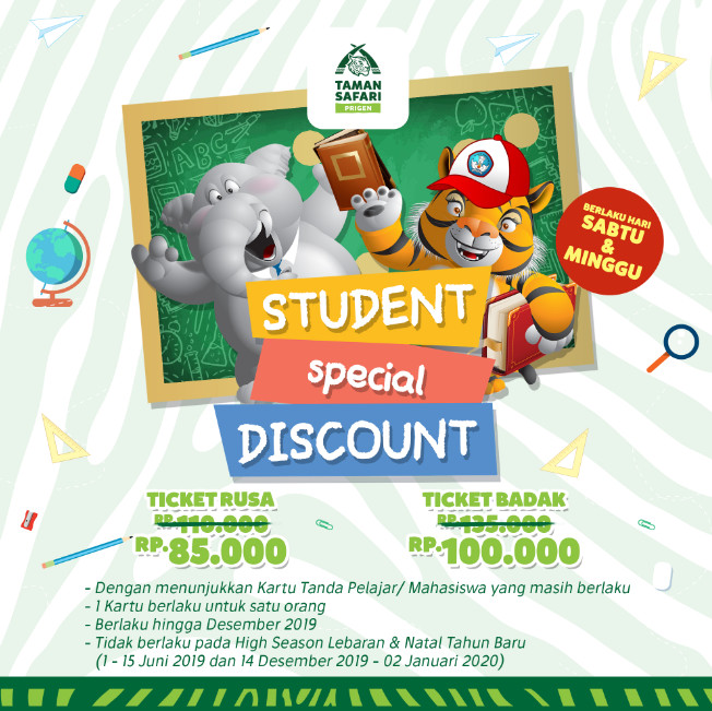 Student Special Discount