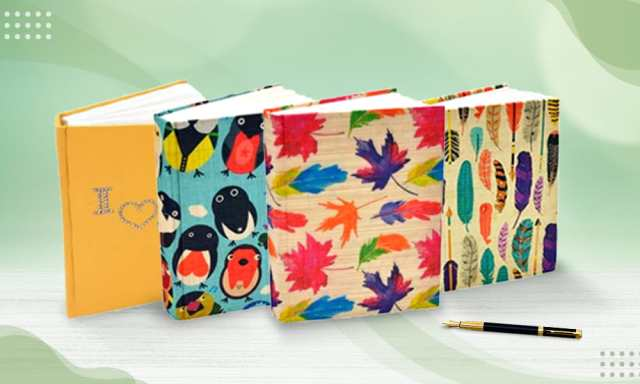Experience Blissful Journaling With Handmade Diaries!