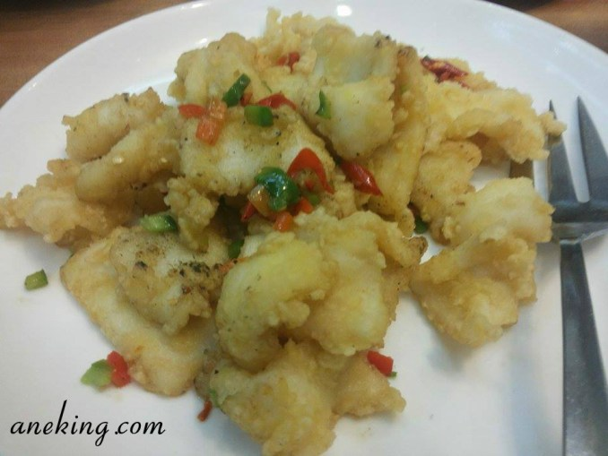 Deep Fried Cuttlefish with Spicy Salt