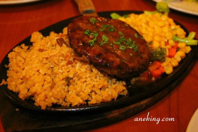 Angus Burger Steak
