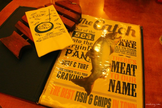 fish co menu