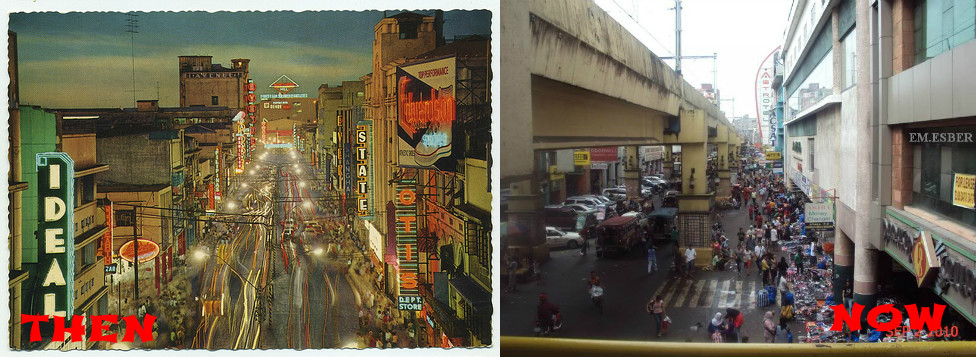 Avenida Then and Now