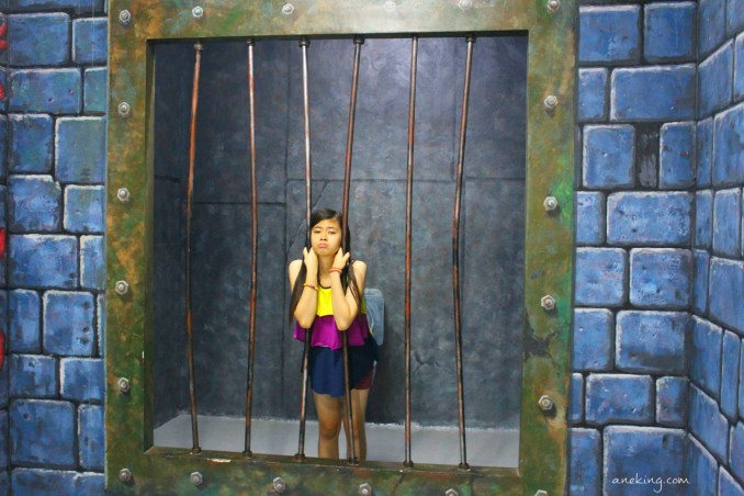 jail in art in island
