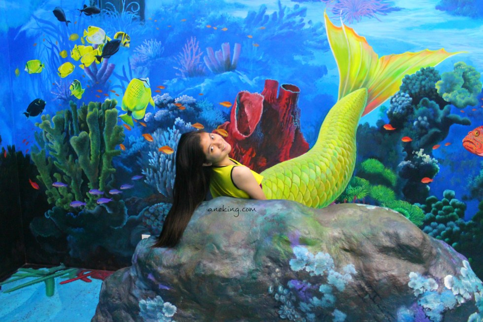 mermaid in Art in Island