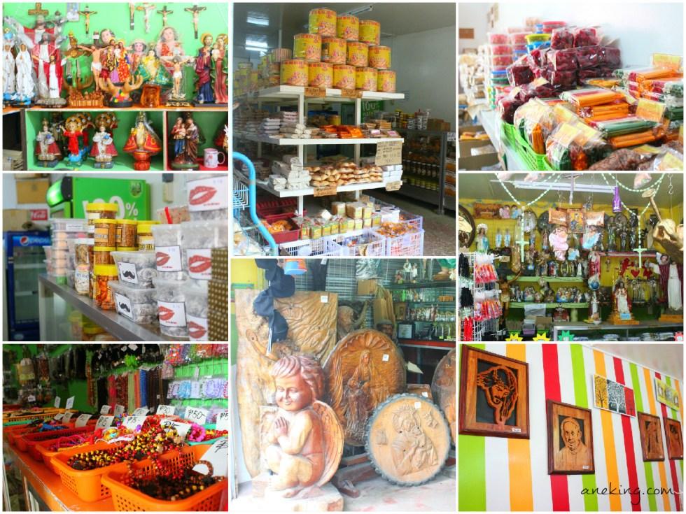souvenir shops