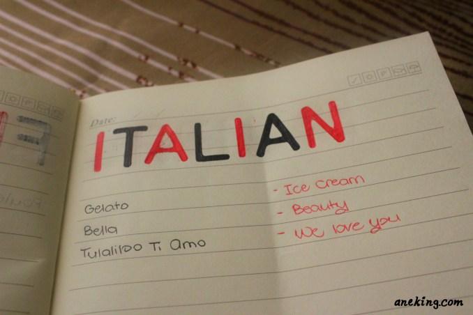 italian minion language