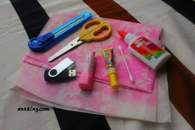lipstick USB step 1
