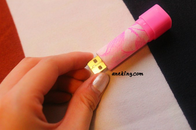 lipstick USB step 8