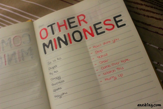 other minionese