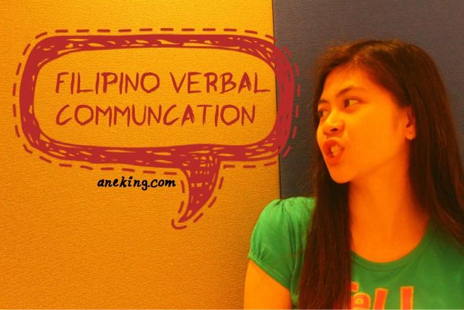 filipino verbal communication