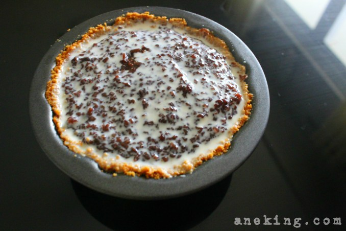 14. Your Chocolate Rice Pie is now done and ready to be eaten.