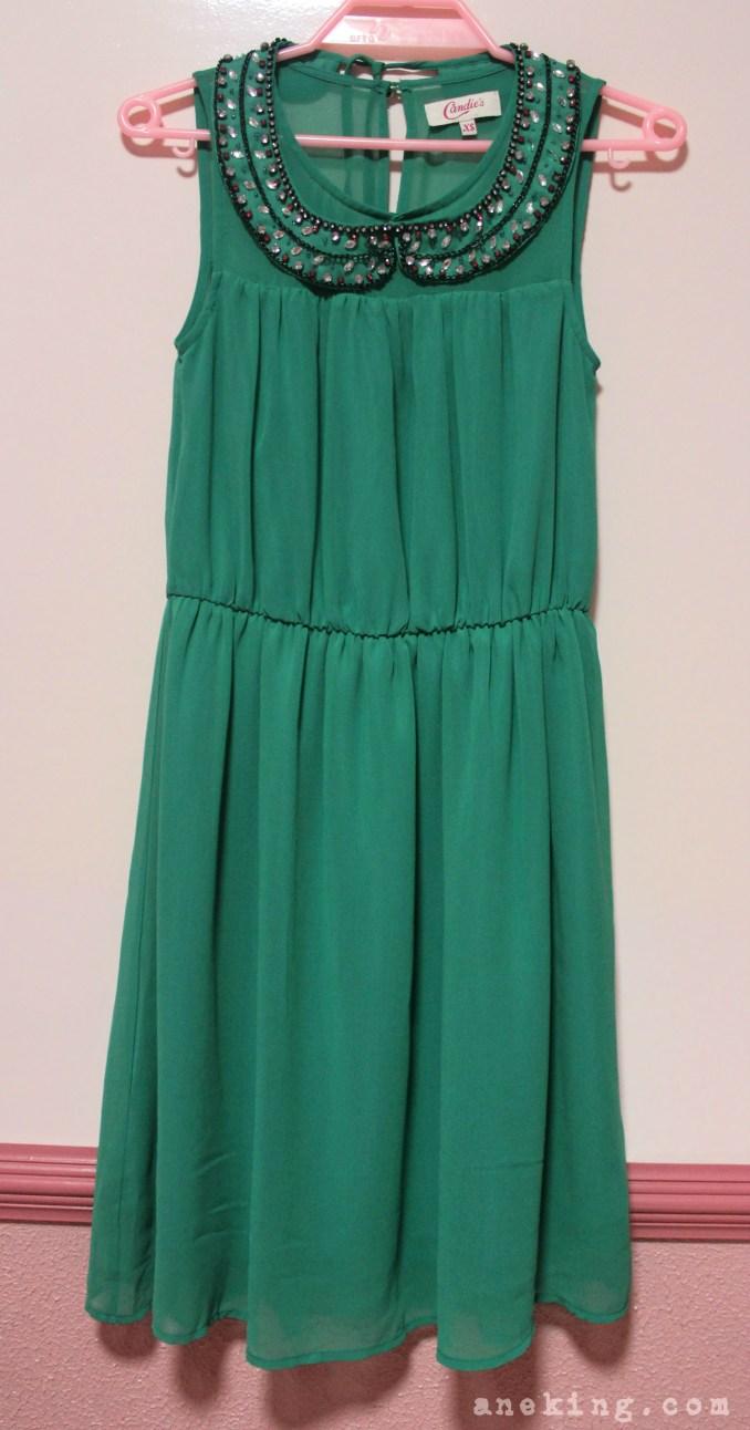 candies green dress