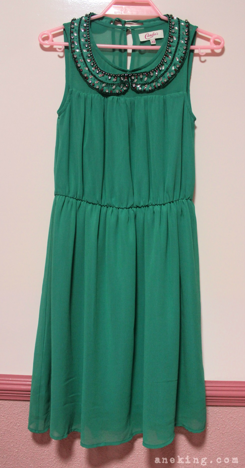 candies green dress