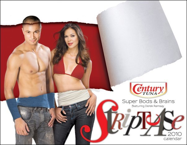 Century Tuna Campaign Striptease