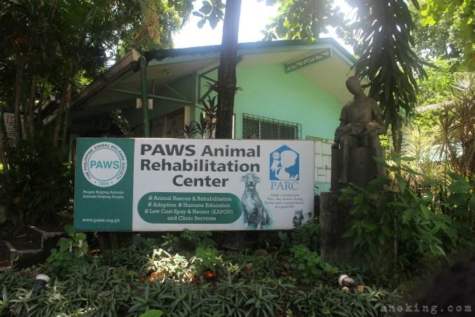 paws animal rehabilitation center