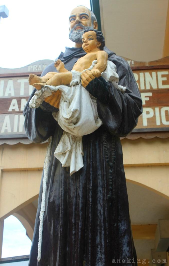 2 St Padre Pio in National Shrine of St Padre Pio