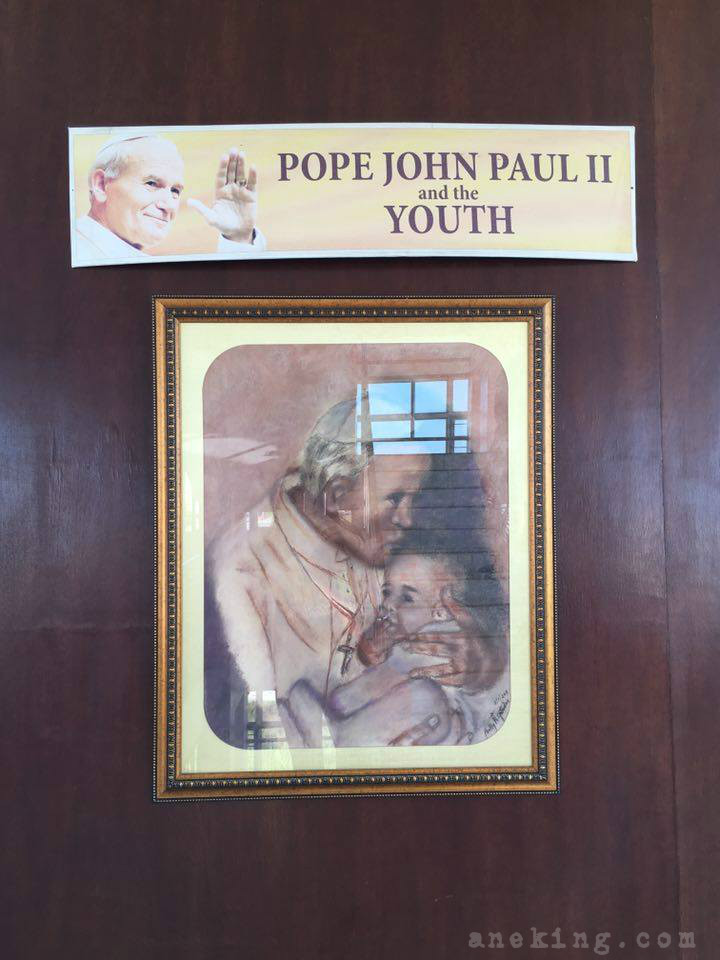 7 Pope John Paul II Tower and the youth